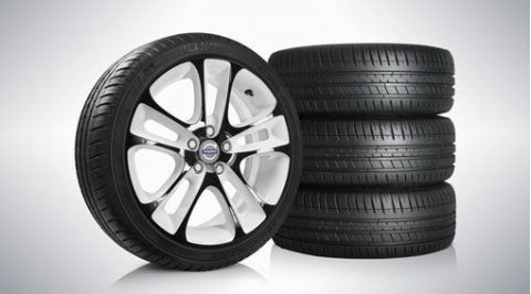 "V40  ""Atreus"" 7.5 x 18"" Wheel & Tyre x4 package"